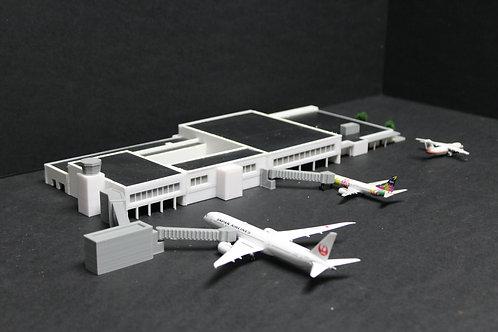1/400 Scale Dunedin Airport Model Airport Terminal