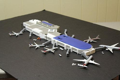 1/400 Scale Charlotte Douglas Concourse D