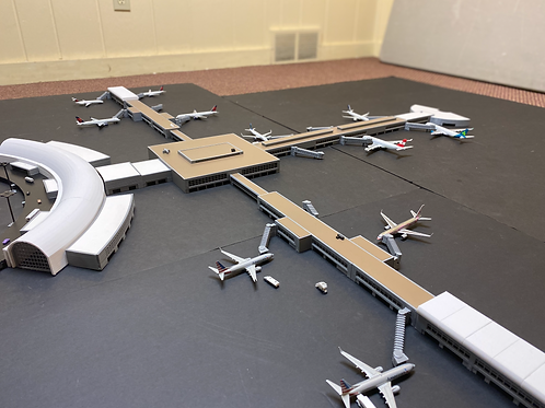 Jacksonville International Airport Original Terminal 1/400 Scale #1030