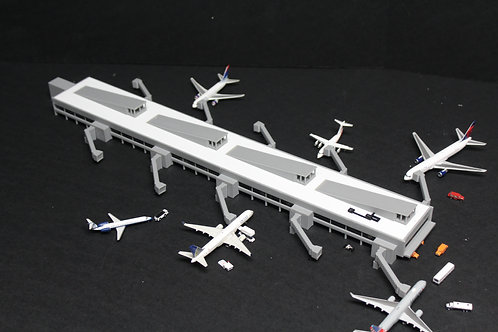 1/400 Scale Bradley International Terminal Concourse