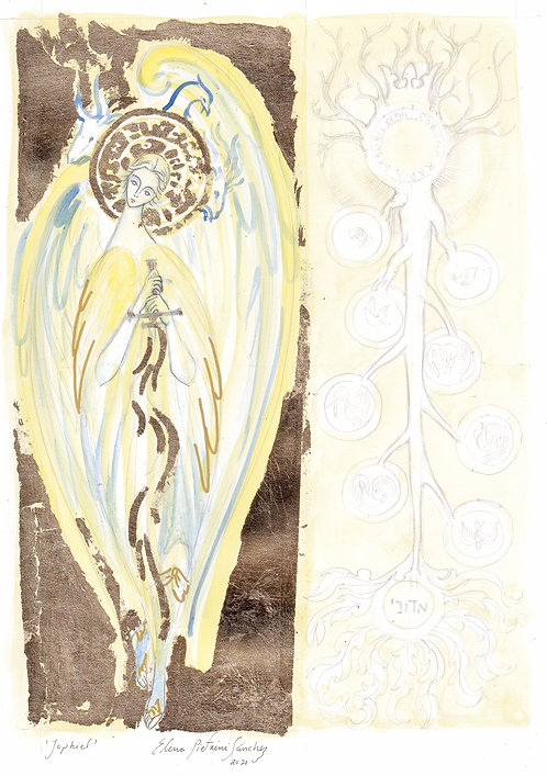 Jophiel / Dina & the Tree of Life [work in progress]