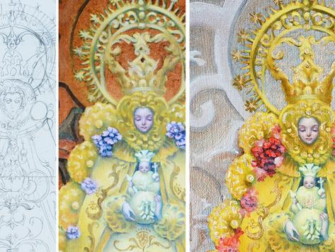 Painting tutorials online!
