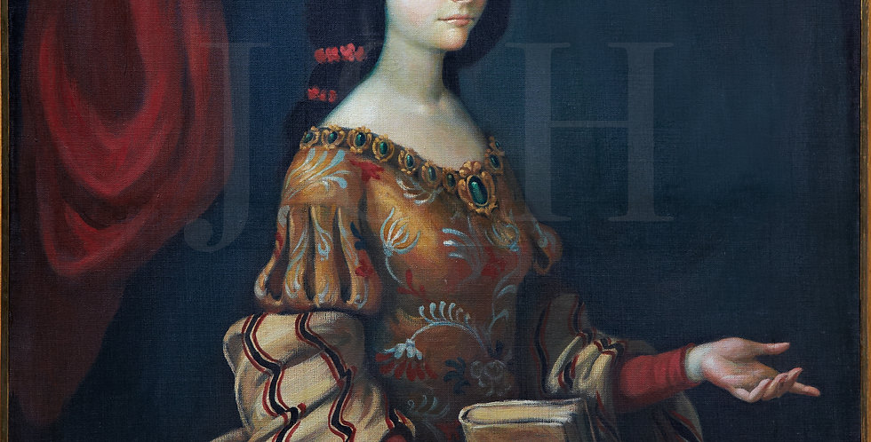 Juana de Asbaje exam in 1666