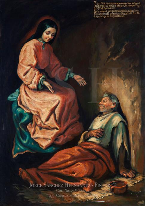 La Virgen y Juan Bernardino