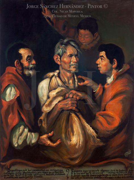 Juan Diego y los sirvientes