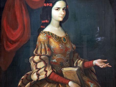 Who painted Sor Juana Inés courtesan?