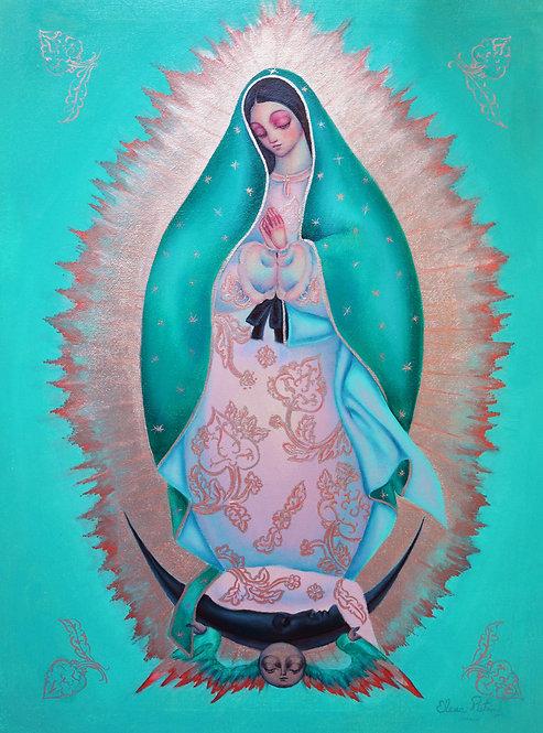 Madonna de Guadalupe [gold arabesques]