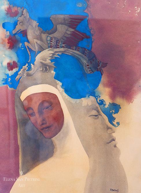 Crowned nun at Carnival