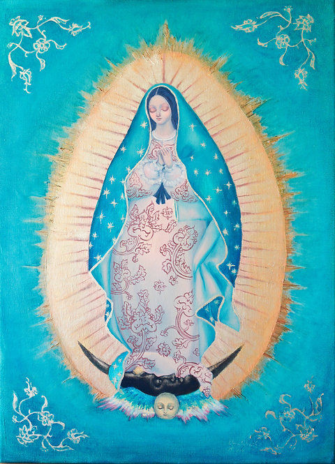 Madonna de Guadalupe [Turquoise]