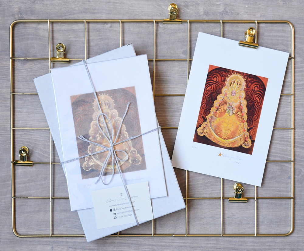 De luxe Our Lady of El Rocio fine art prints