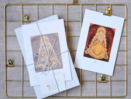Limited luxury edition of Madonna prints