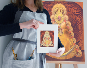 Our Lady of El Rocio fine art prints and painting