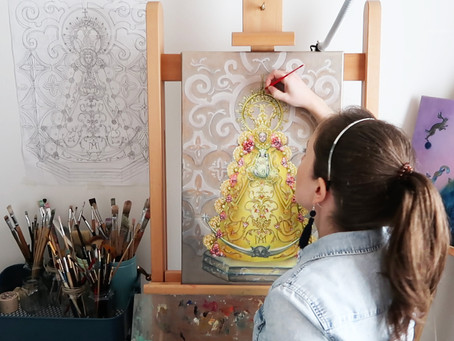 Painting in times of Corona Virus