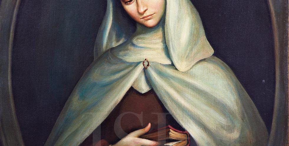 Sor Juana as Carmeliet Novice