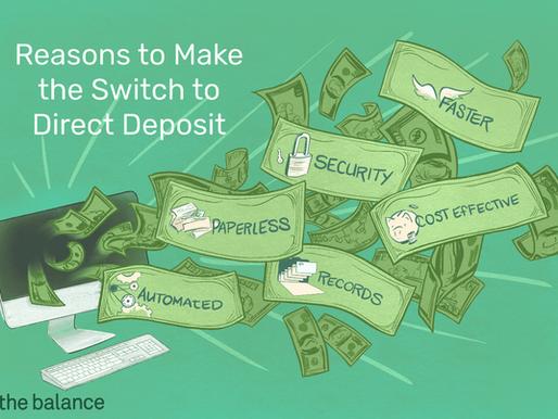 Direct Deposit: Benefits and Advantages