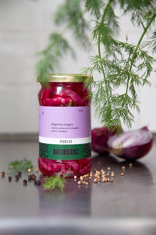 Nos pickles d'oignons rouges