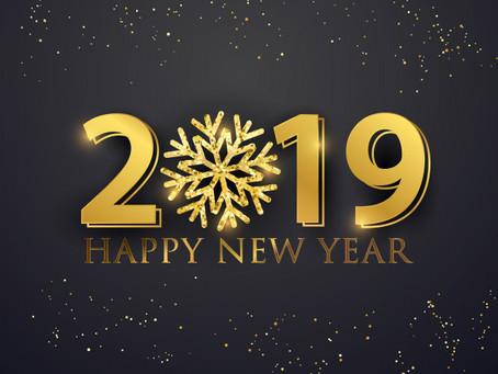 Votre ostéopathe vous souhaite une très belle année 2019 !