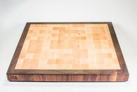 Walnut Maple ENd Grain Cleveland Cutting Board