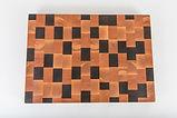 Mosaic End Grain Cutting Board