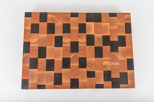 Mosaic End Grain Cutting Board