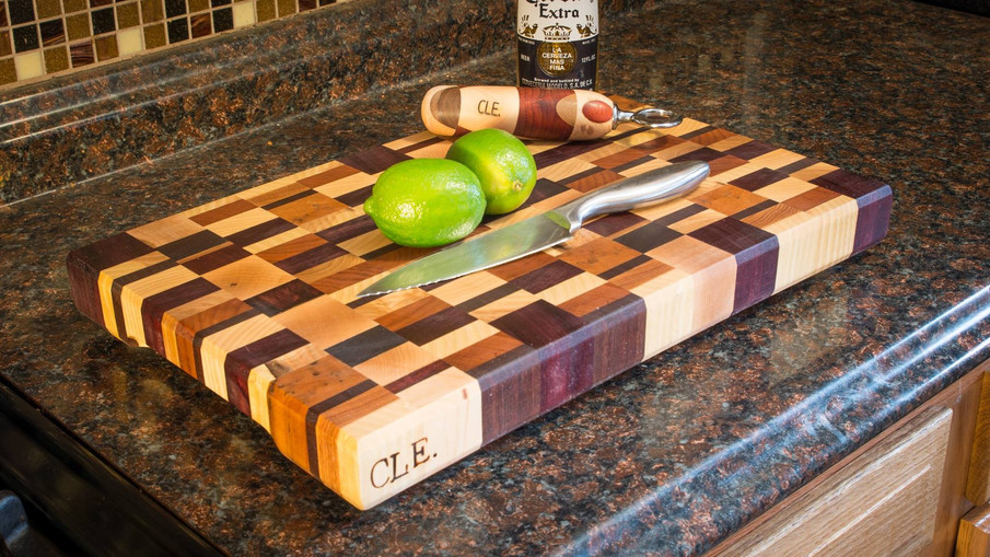 Artisan End Grain Cutting Board