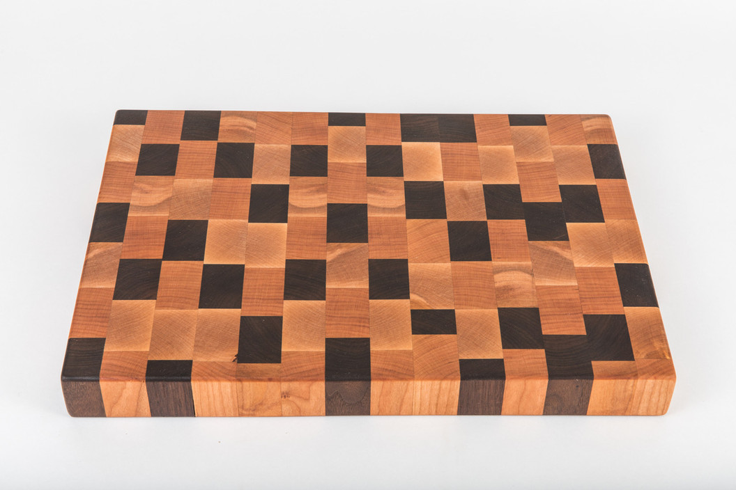 Artisan End Grain Cleveland Cutting Board