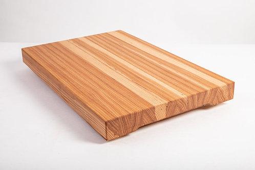 Hickory Edge Grain Cutting Board