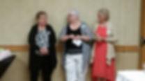 Cyndie Wowchuk, France Gates, Jean Va Nus