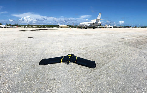 SenSat | Surveying a live international airport in the Bahamas