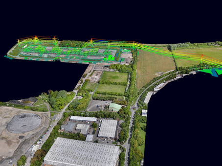 What is a topographic survey?
