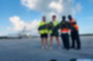 Surveying in Bahamas