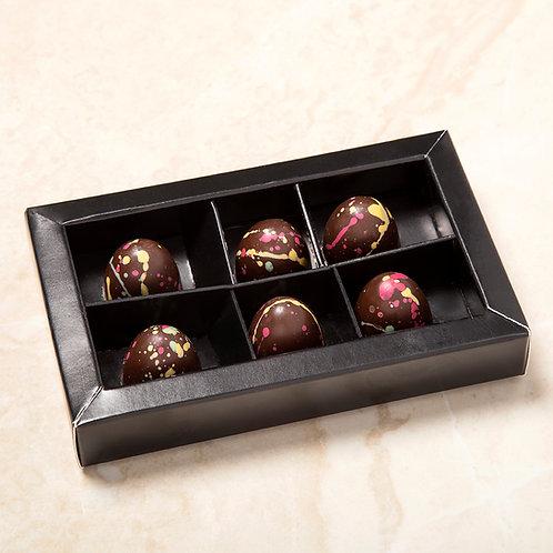 פרלין אגוזי לוז קופסא של 6