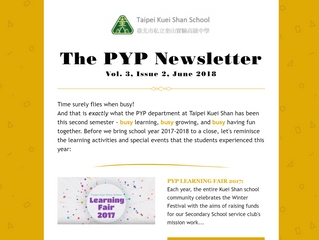 The PYP Newsletter. Vol 3