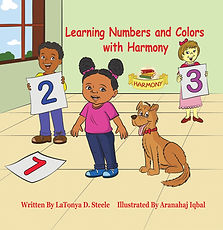 book 2, Learning Numbers and Colors with