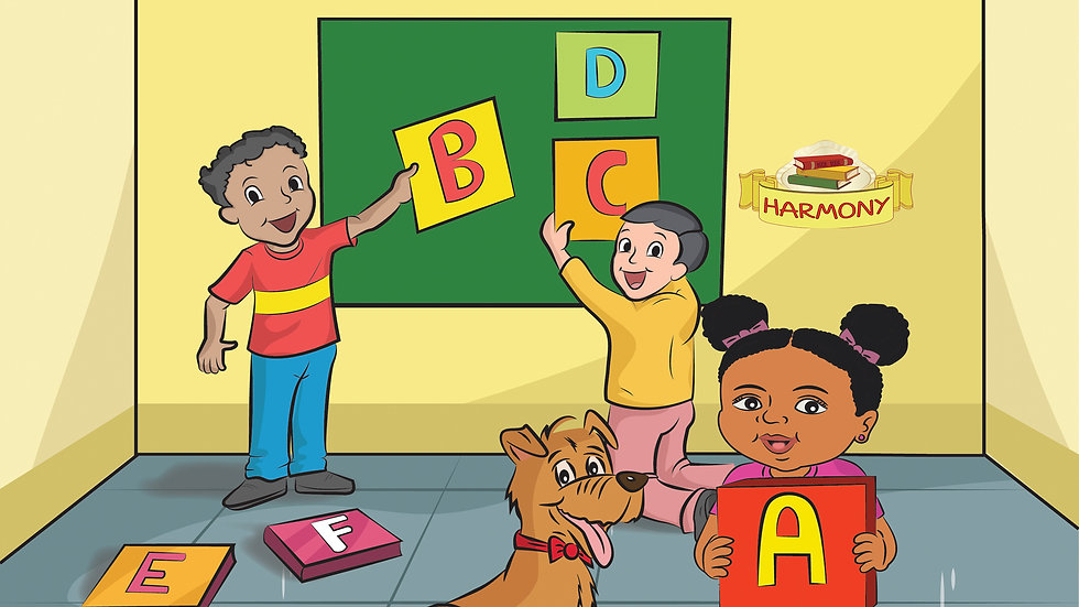 Learning the Alphabet with Harmony (Paperback)