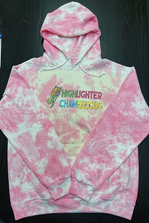 "HIGHLIGHTER CHAMELEONS ""Ankaramy"" Tie Dye Hoodie"