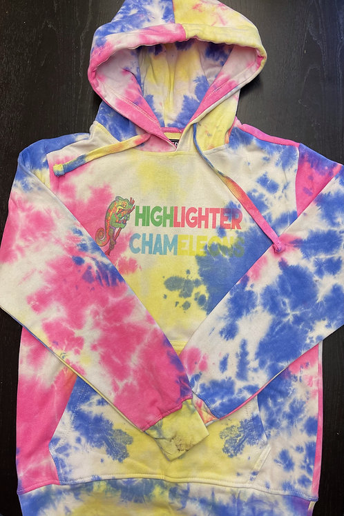 "HIGHLIGHTER CHAMELEONS ""Ankify"" Tie Dye Hoodie"