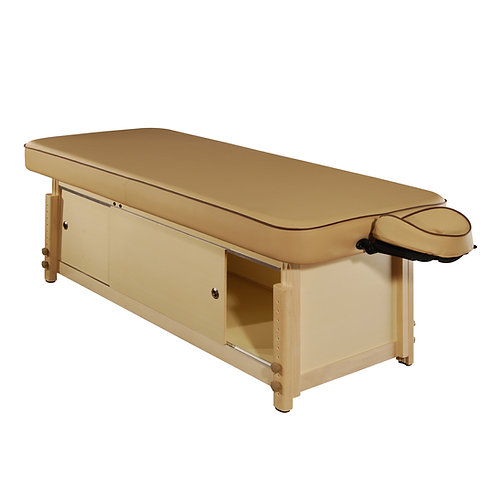 MT Executive Comfort Stationary Massage Table for Spa Salon