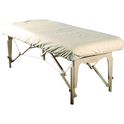 Mt Massage Universal Size Fitted Flannel Table Cover