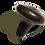Thumbnail: MT Mushroom Shape Balsalt Hot Massage Stone Trigger Presser Point 1 Piece