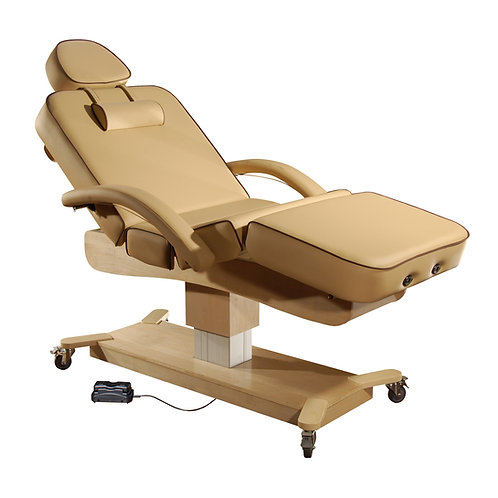 "MT Massage 30"" MaxKing Salon 3-Section Electric Massage Table"