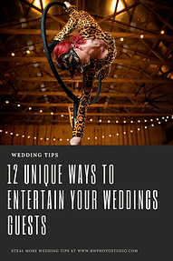 12 Unique Ways to Entertain Your Wedding