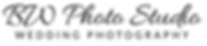 bw Photo Studio New Style Logo Words Onl