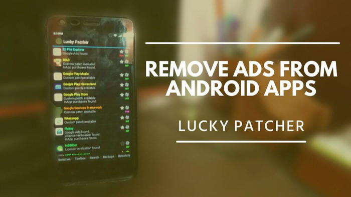 Lucky Patcher Remove Ads