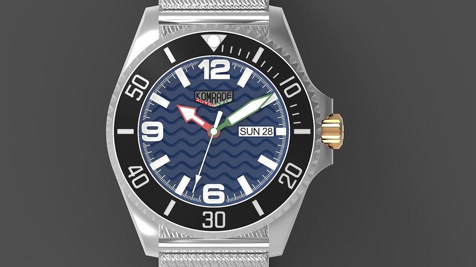 """43mm Urban Diver Mk2 """"navy blue"""""""