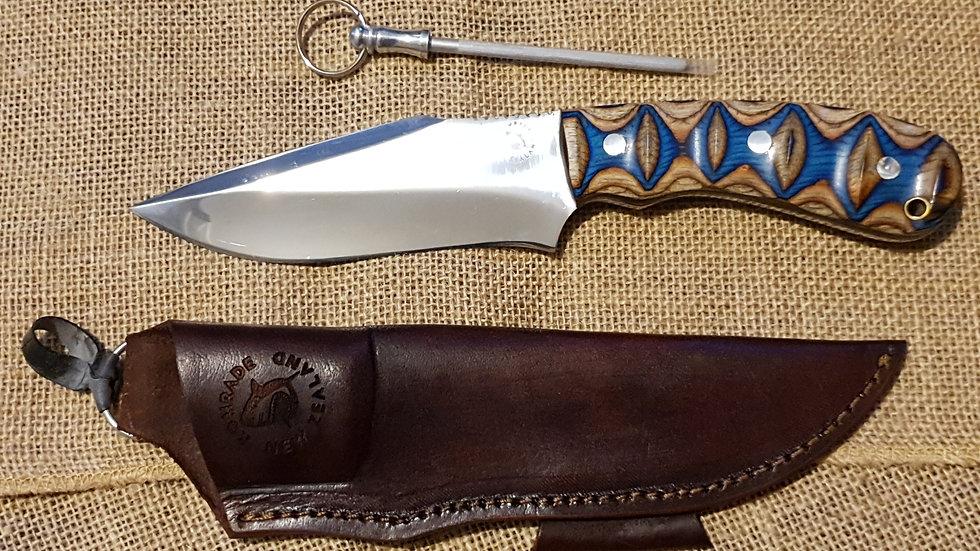 D2 Steel Komrade Field Knife