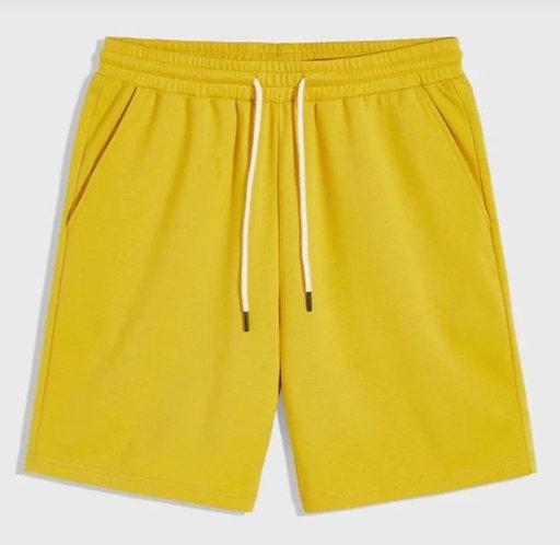 Yellow Sweat Shorts