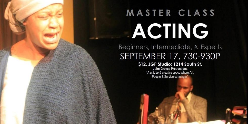 Master Class: Acting