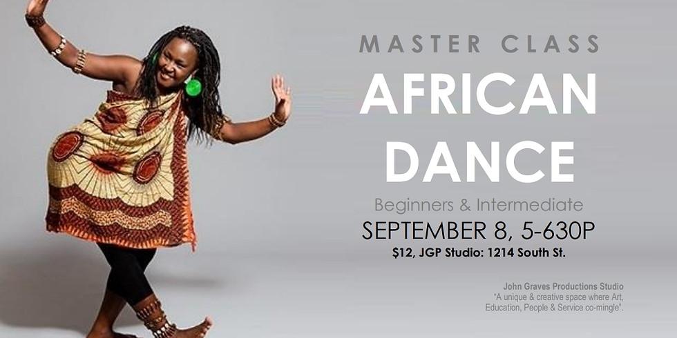 Master Class: African Dance