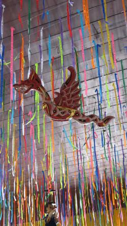 dragão decoração